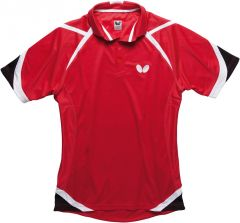 Butterfly Polo Kido Rouge