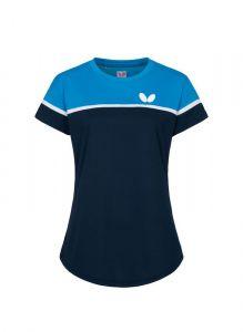 Butterfly Polo Kosay Dame Bleu