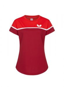 Butterfly Polo Kosay Dame Rouge