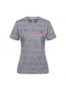 Butterfly T-Shirt Toka Dame Gris