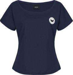Butterfly T-shirt Kihon Dame Bleu