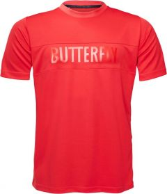 Butterfly T-shirt Stripe Rouge